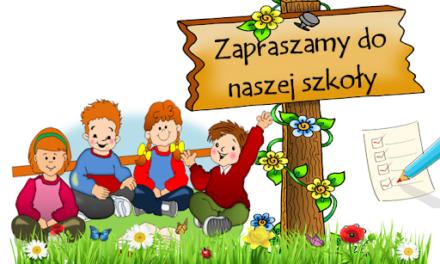 Rekrutacja i zapisy do oddziałów przedszkolnych i klas pierwszych