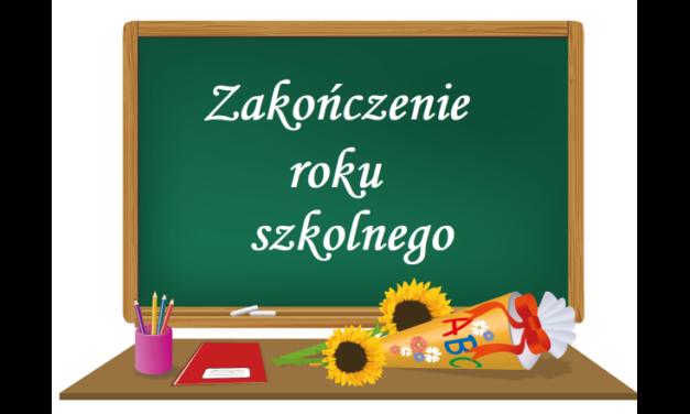 Zakończenie roku szkolnego 2020/2021 w SSP nr 6 we Wrześni